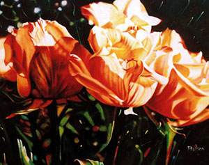 Roses, florals and still life paintings by Fred Paulson